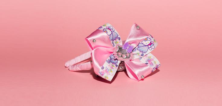 Diadema Bordado (Hello Kitty)