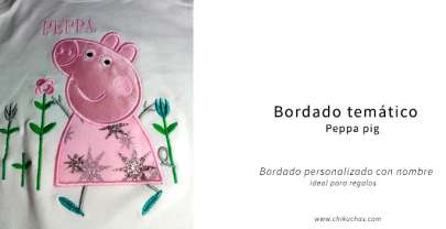 BORDADO TEMÁTICO (Peppa pig)