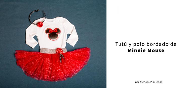 Vestido Temático ( Inspirado en MINNIE MOUSE )