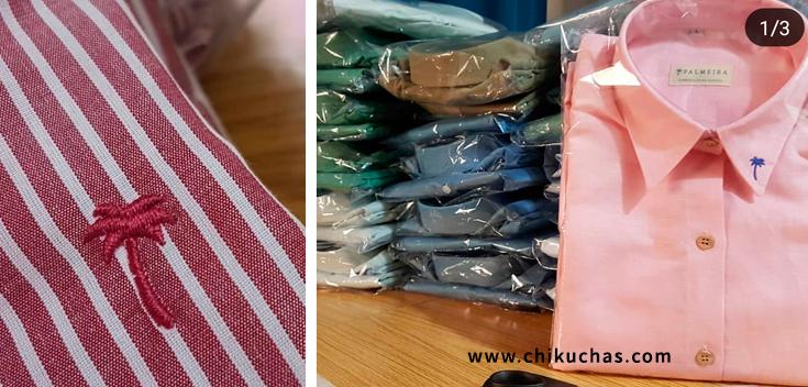Camisas bordadas personalizado