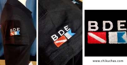 Polos personalizados bordados