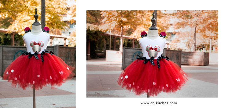 Vestidos de cumpleaños  ( inspirado en Minnie)