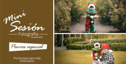 Minie Sesión de Fotografía Navidades 2018