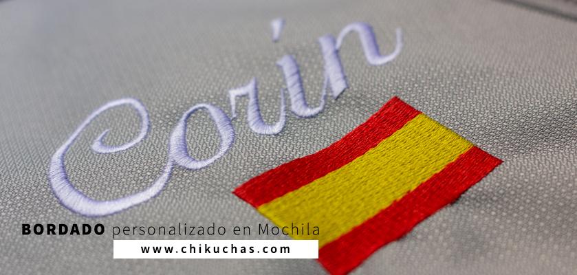Bordado personalizado en (Mochila)