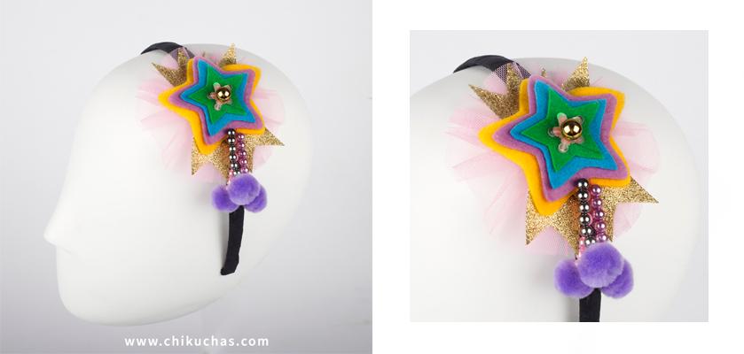 Diademas coloridas