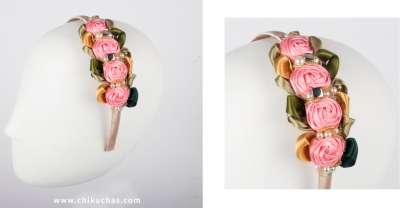 Diademas de Rosas