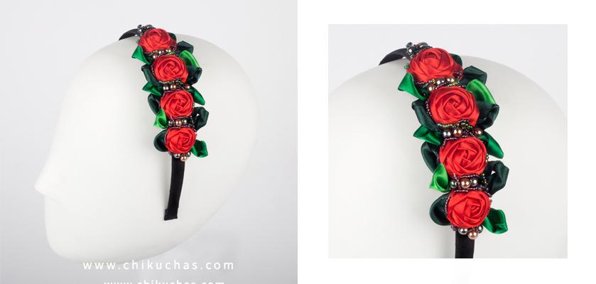 Diademas en Rosas