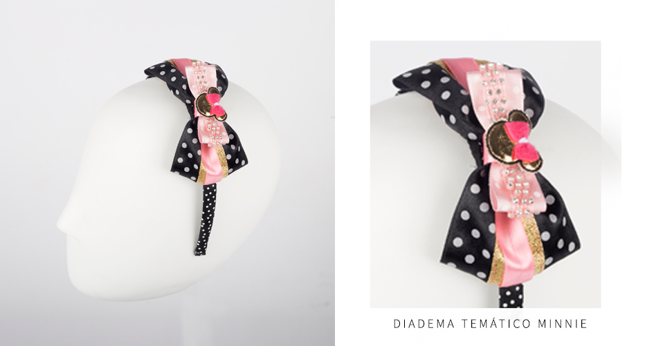Diademas Temáticas Minnie