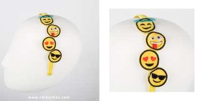 Diadema emoticonos
