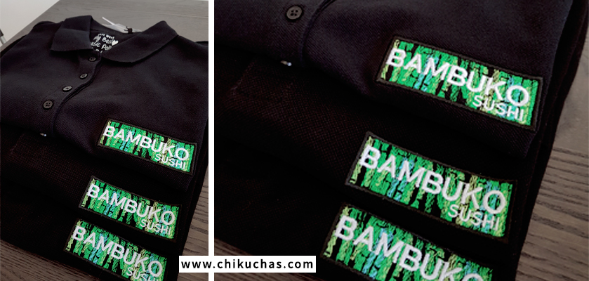 Polos bordados personalizados