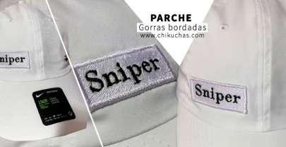 Gorras bordadas personalizada