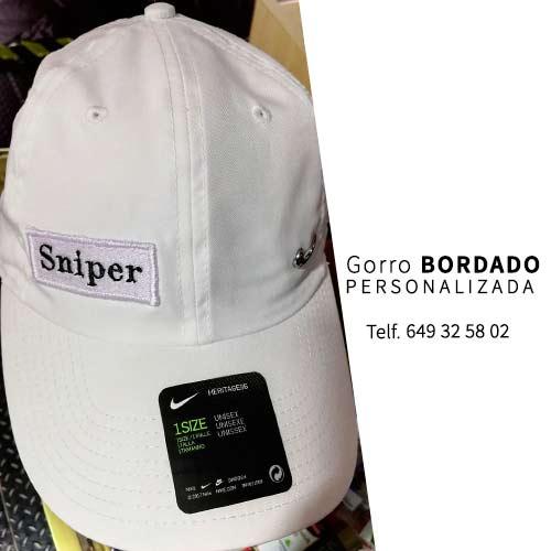 Parches personalizados para gorras