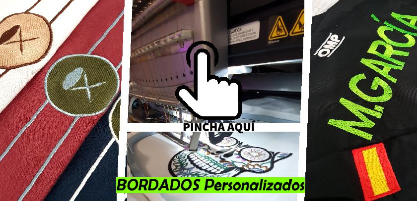 Servicios de bordados personalizados Madrid Centro