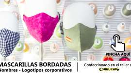Mascarilla bordados Madrid